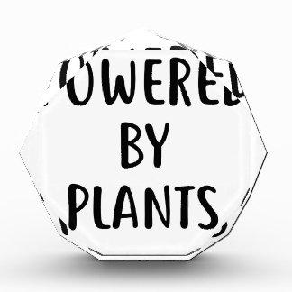 Récompense Actionné par des plantes