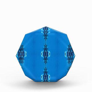 Récompense Amants bleus chics frais bleus