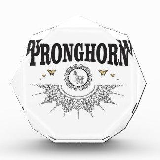 Récompense art de papillon de pronghorn
