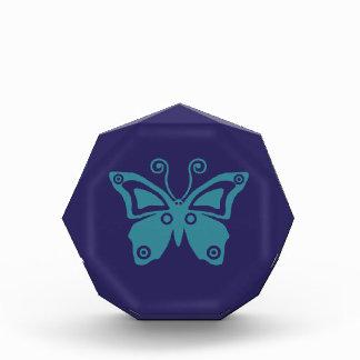 Récompense Bon vibraphone Serie de papillon bleu