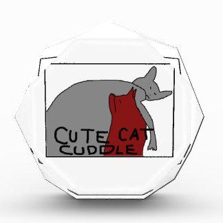 Récompense Caresse mignonne de chat
