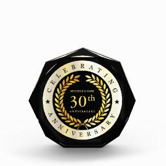 Récompense Célébration du 30ème anniversaire. Personnalisable