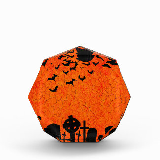Récompense Cimetière affligé - copie noire orange de