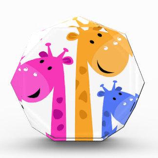 Récompense Édition colorée extraordinaire de girafe