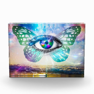 Récompense horizontale de bloc d'EyeMind