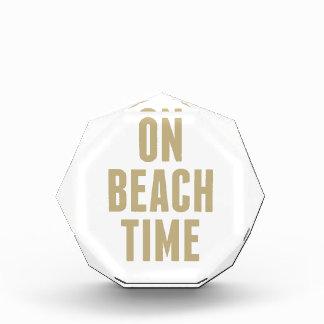 Récompense Le temps de plage