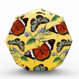 Récompense les papillons mélangent le jaune