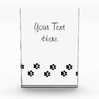 Récompense Pattes de chien, traces, empreintes de pattes -