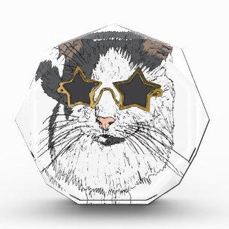 Récompense Verres de port d'étoile de chat