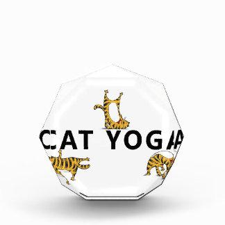 Récompense yoga de chat