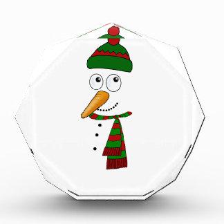 Récompenses En Acrylique Bonhomme de neige mignon