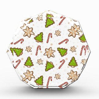 Récompenses En Acrylique Motif de Noël de biscuits de gingembre
