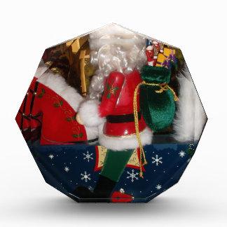 Récompenses En Acrylique Noël heureux avec la neige bonnes fêtes