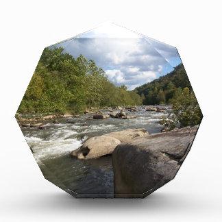 Récompenses En Acrylique Scène de rivière de la Virginie Occidentale