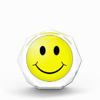 Récompenses En Acrylique Visage souriant