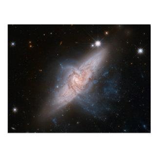 Recouvrement galactique carte postale