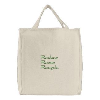Réduisez la réutilisation réutilisent le sac