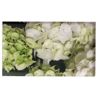Reeks van het Huwelijk van de hydrangea hortensia Plaatskaart Houder