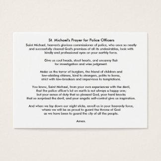référence d'ILEFSA, Inc/carte prière de St Michael Cartes De Visite