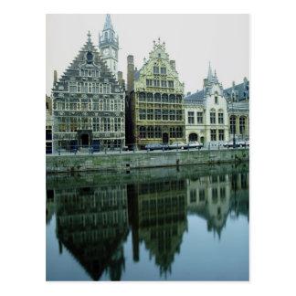 Réflexion, Belgique Carte Postale