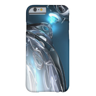Réflexions de bleu coque iPhone 6 barely there