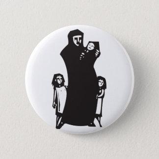 Réfugié islamique badge rond 5 cm