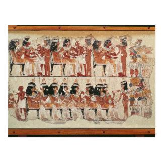 Régalez la scène, de Thebes, c.1400 AVANT JÉSUS Cartes Postales