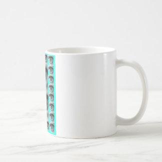 REGARD BLEU1.png Mug Blanc