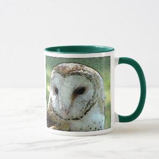 Regard de hibou de grange mug