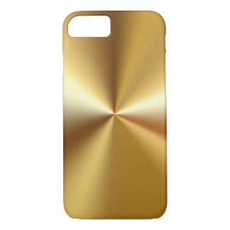 Regard de luxe de l'or des hommes coque iPhone 8/7