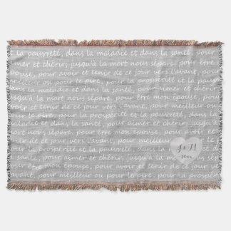 Regard de toile gris de toile de jute avec des couverture