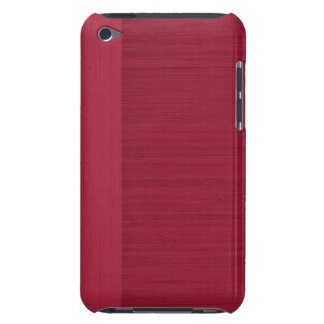 Regard du bois de grain de frontière en bambou de coques iPod touch