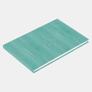 Regard du bois en bambou bleu vert de grain livre d'or