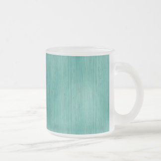 Regard du bois en bambou bleu vert de grain tasse givré