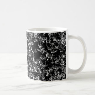 Regard marbré noir et blanc mug