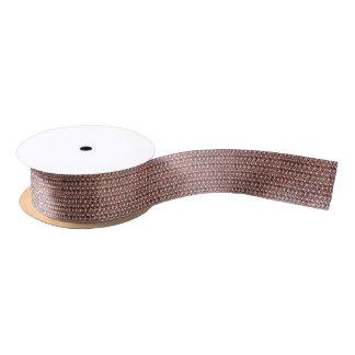 Regard métallique d'or de Chainmail d'armure rose Ruban En Satin