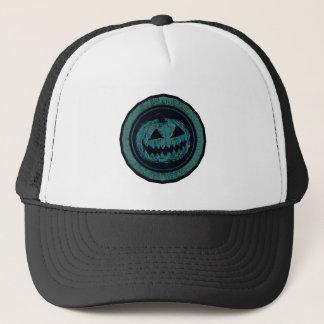 Regard porté de vert de mer d'octogone de casquette
