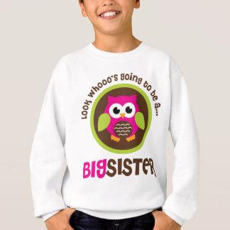 Regardez Whoos allant être un hibou de grande Sweatshirt