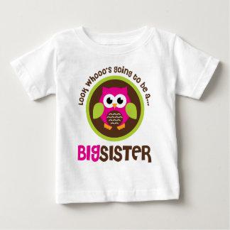Regardez Whoos allant être un hibou de grande T-shirt Pour Bébé