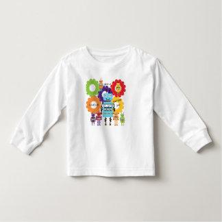 Règle de robots t-shirt pour les tous petits