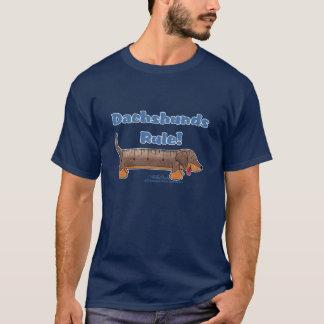 Règle de teckels t-shirt