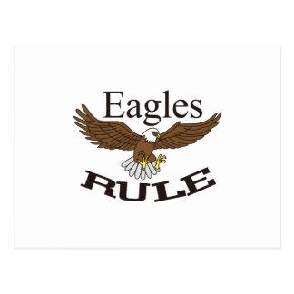 Règle d'Eagles Cartes Postales