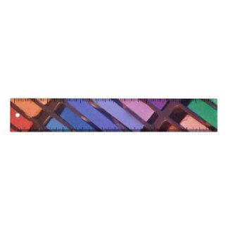 Règle Pastels d'artistes - papeterie