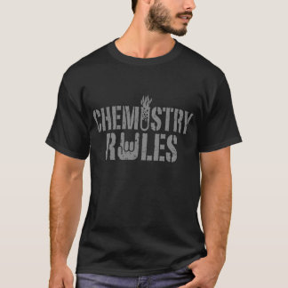 Règles de chimie t-shirt