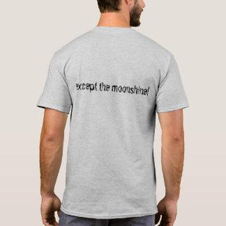 Regret du T-shirt i rien… excepté alcool illégal !