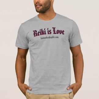 Reiki est amour t-shirt