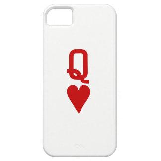 Reine de cas de l'iPhone SE/5/5S de coeurs à peine Coques iPhone 5