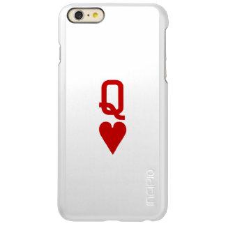 Reine de l'iPhone 6/6S de coeur plus le cas