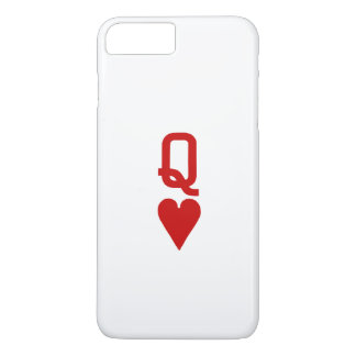 Reine de l'iPhone 7 de coeurs plus à peine là Coque iPhone 8 Plus/7 Plus