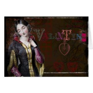 Reine de Valentine Carte De Vœux